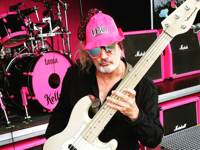 Pink is beautiful – Ralph Bach now rocking with Vincent!